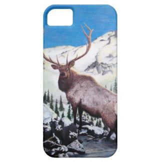 Coastal Mountain Monarch - Elk iPhone Case iPhone 5 Cases