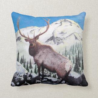Coastal Mountain Monarch - Elk Pillow