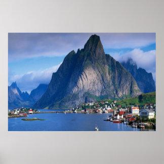 Coastal Mountain View poster