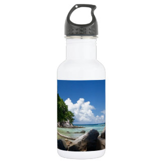 Coastal Naturescape Beach Vacation Stainless Steel Water Bottle
