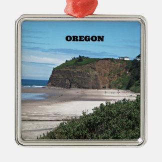 Coastal Oregon Metal Ornament