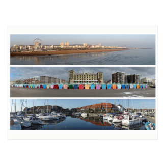 Coastal panoramas postcard