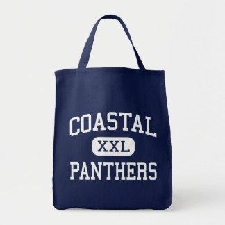 Coastal Panthers Middle Savannah Georgia Tote Bags