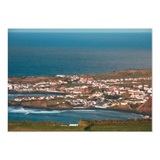 Coastal parish in Azores Card