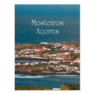 Coastal parish in Azores Postcard