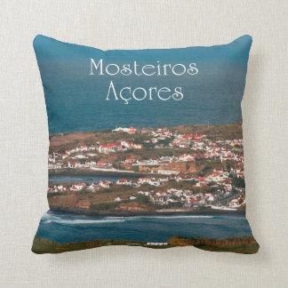 Coastal parish throw pillow