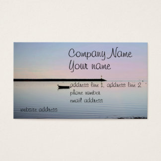 Coastal photo business card