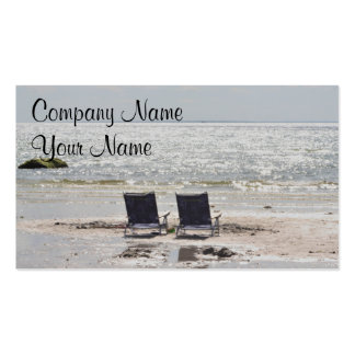 Coastal photo Double-Sided standard business cards (Pack of 100)