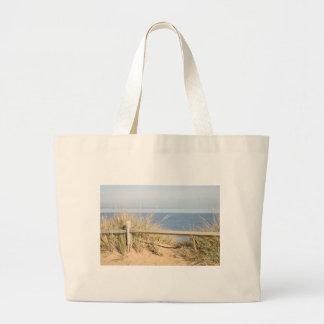 Coastal photo large tote bag