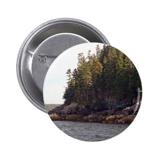 Coastal Pines Button