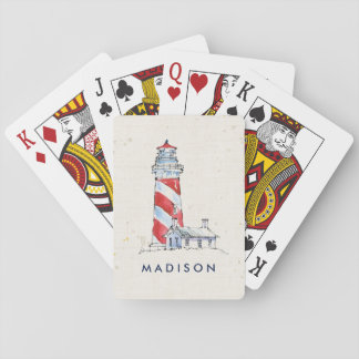 Coastal Quote | Take Time To Coast Through Life Playing Cards