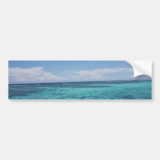 Coastal Reef, Fiji Bumper Sticker