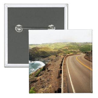 Coastal Road Pinback Button