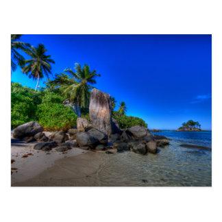 Coastal Rock Formation Nature Postcard
