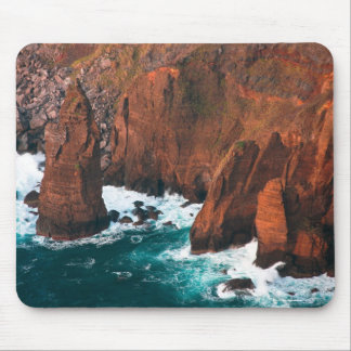 Coastal rock formations mouse pad
