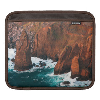 Coastal rock formations sleeve for iPads