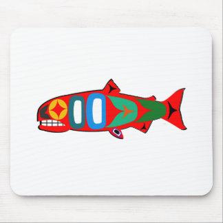 Coastal Salmon Mouse Pad