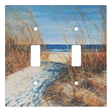 Coastal Sand Dunes Beach Artwork Light Switch Cover