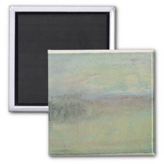 Coastal scene. c.1830 fridge magnet