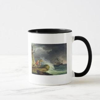 Coastal Scene in a Storm, 1782 Mug
