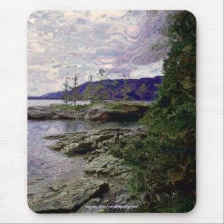 Coastal Scene Wilderness Nature Photo Mousepad