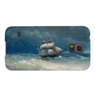 Coastal scene with Stormy Waters  Ivan Aivazovsky Galaxy S5 Case