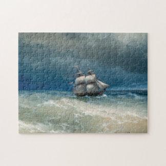 Coastal scene with Stormy Waters Ivan Aivazovsky Jigsaw Puzzle