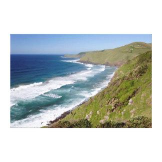 Coastal Scenery Coffee Bay Canvas Print