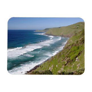 Coastal Scenery Coffee Bay Rectangular Photo Magnet
