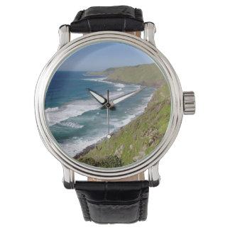 Coastal Scenery Coffee Bay Wrist Watch