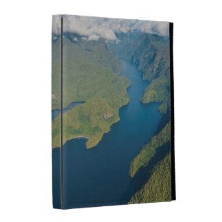 Coastal Scenery In Great Bear Rainforest iPad Folio Cover