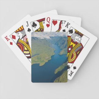 Coastal Scenery In Great Bear Rainforest Playing Cards