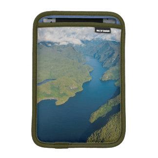 Coastal Scenery In Great Bear Rainforest Sleeve For iPad Mini