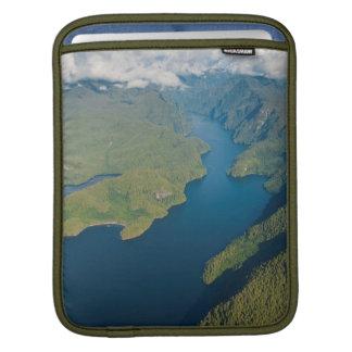 Coastal Scenery In Great Bear Rainforest Sleeve For iPads