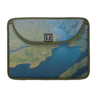 Coastal Scenery In Great Bear Rainforest Sleeves For MacBook Pro