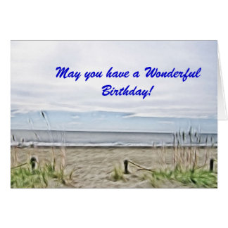 Coastal Sea Dunes of North Carolina Card