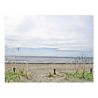 Coastal Sea Dunes of North Carolina Postcard