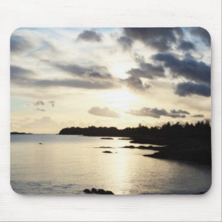 Coastal Silhouette in County Kerry, Ireland Mouse Pad
