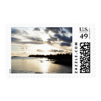 Coastal Silhouette in County Kerry, Ireland Postage