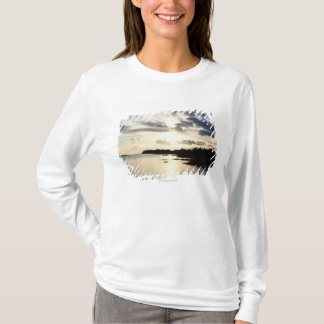 Coastal Silhouette in County Kerry, Ireland T-Shirt
