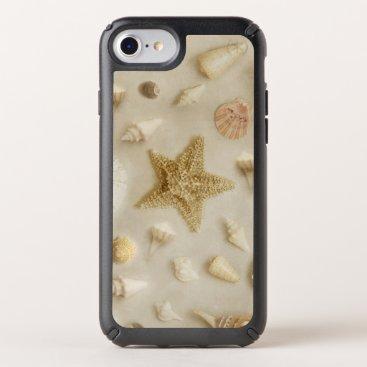 Coastal Starfish and Seashells Beach Photo Speck iPhone Case