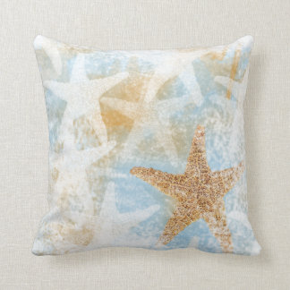 Coastal Starfish Print | Throw Pillow