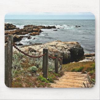 coastal steps zazzle mouse pad