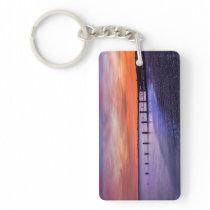 Coastal Sunset Keychain