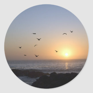 Coastal Sunset stickers