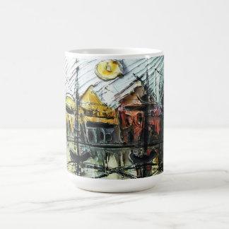 Coastal town coffee mug