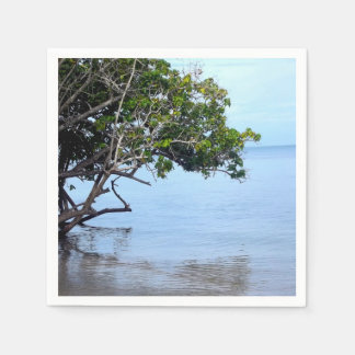 Coastal Tree Tropical View Napkin