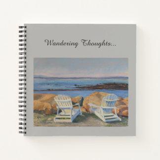 Coastal View from Adirondack Spiral Notebook