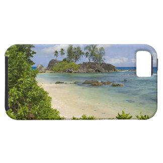Coastal view on Mahe Island iPhone SE/5/5s Case