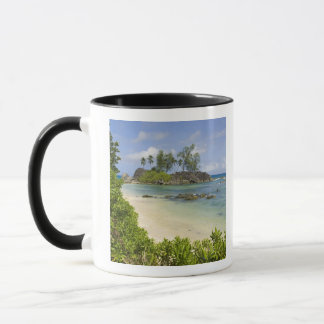 Coastal view on Mahe Island Mug